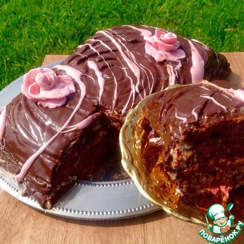 Репепт с фото торт прага