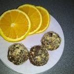 Апельсиновые конфеты из детской смеси