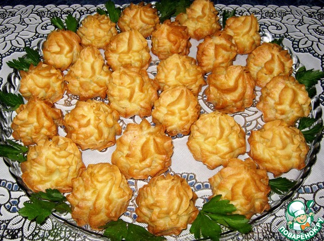 Картофельные профитроли рецепт