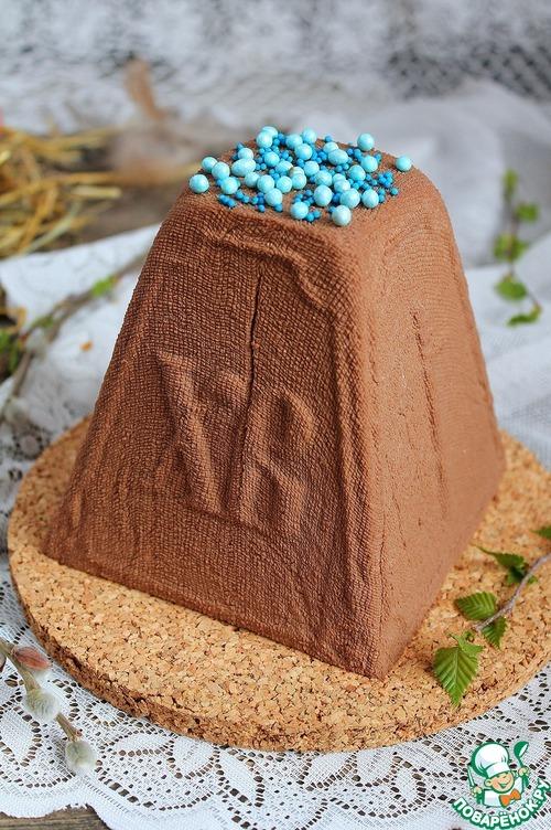 Пасха шоколадная и с вареной сгущенкой