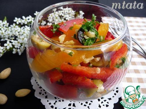 Салат из сладких перцев на зимуы