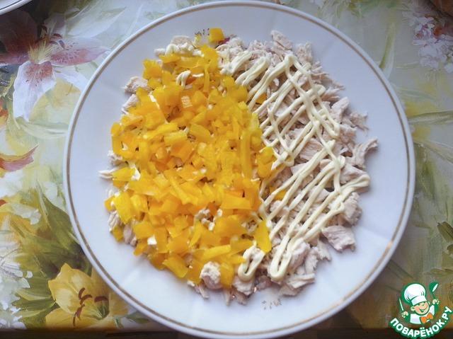 Салаты с ананасом рецепты с вкусные