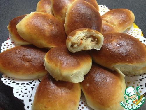Пироги дрожжевые на кефире рецепты простые и вкусные