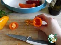 """Закуска с сыром фета """"Мини-перчики"""" ингредиенты"""