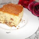 Сливочный пирог с изюмом