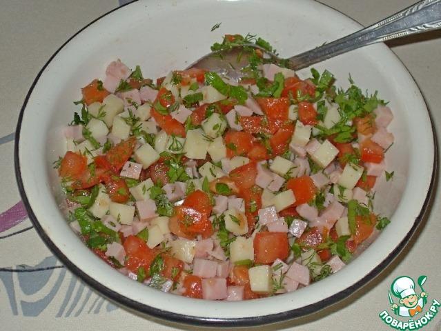 Рецепты мясных салатов с пошагово в