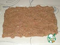 Мясной рулет с ветчиной и сыром ингредиенты