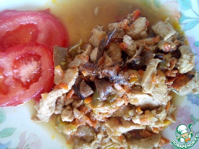 вкусная лапша с курицей рецепт с фото
