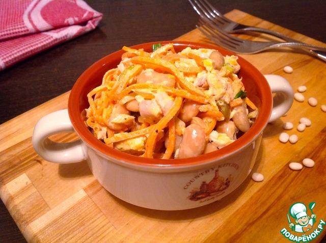 Рецепты салатов с морковью по-корейски