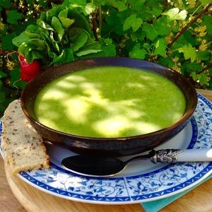 Рецепт: Бархатный весенний суп