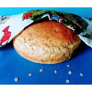 Хлеб с семенами и гречкой