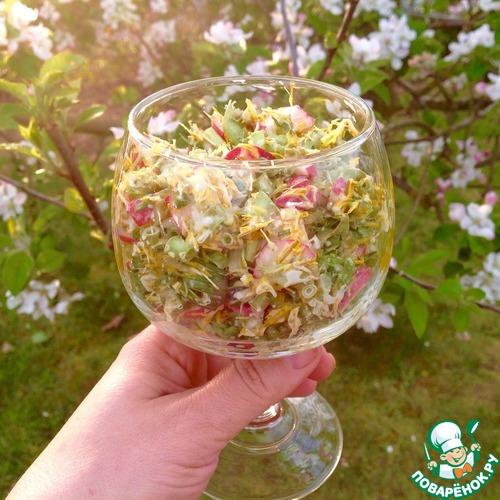 одуванчики салат