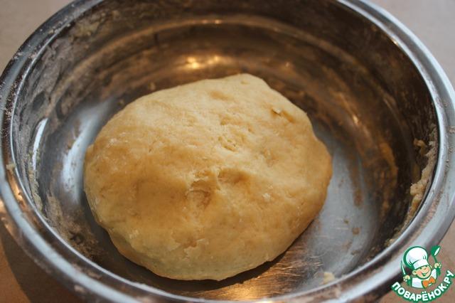 Шарлотка с яблоками рецепт песочное тесто пошагово