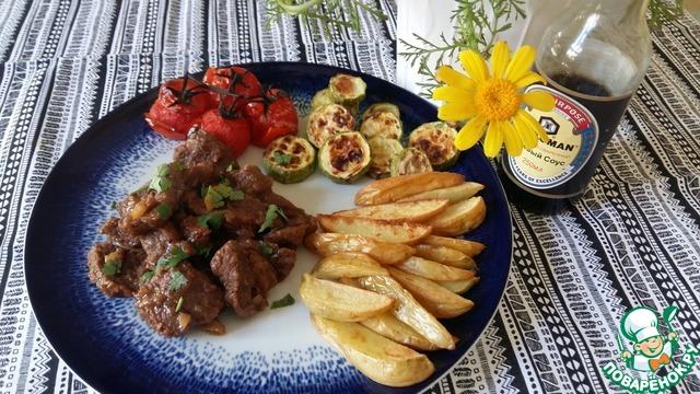 рецепт говядина с лимоном