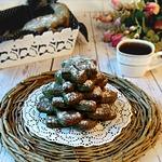Печенье с тыквенной мукой