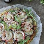 Овощная пицца на картофельной основе