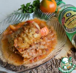 рыба в сметано-соевом маринаде