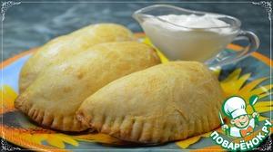 Рецепт: Пирожки с картофелем и сыром