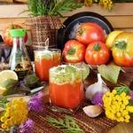Суп-пюре из печеных томатов