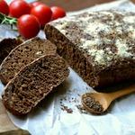 Черный хлеб с какао
