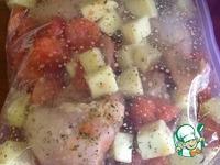 Легкий ужин из курицы или индейки ингредиенты