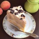 Сливочно-кофейный торт с бананом