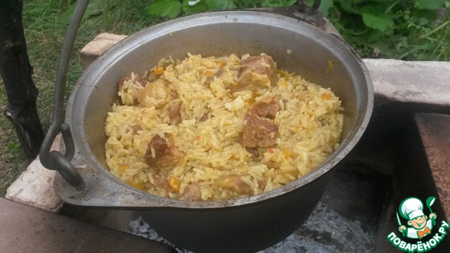 Узбекский плов рецепт поваренок