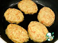 Овощные котлеты с сыром ингредиенты