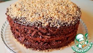 """Рецепт: Торт """" Шоколадно-ореховый"""""""