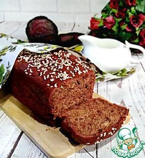 Рецепт: Свекольный хлеб