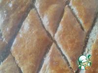 Пирог с орехами ингредиенты