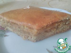 Рецепт: Пирог с орехами