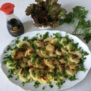 Рецепт: Картофель с перцем чили