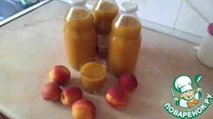 Сок персиковый с мякотью