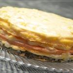 Трехслойный торт – омлет