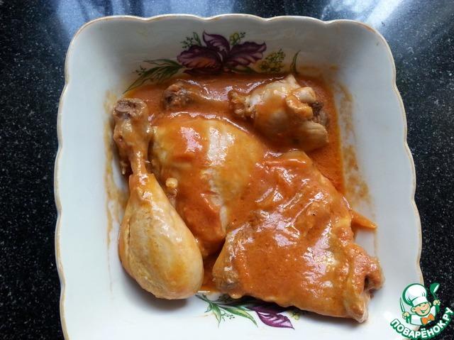 Рецепт курицы в сметане в духовке 83