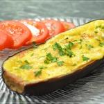 Баклажаны фаршированные овощами в духовке