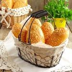 Пирожки для пикника с сосиской