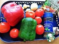 Печень с томатами и перцами ингредиенты