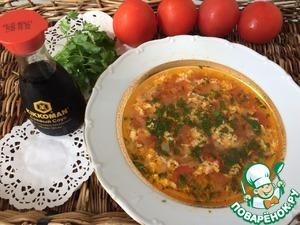 Рецепт: Томатный суп с говядиной