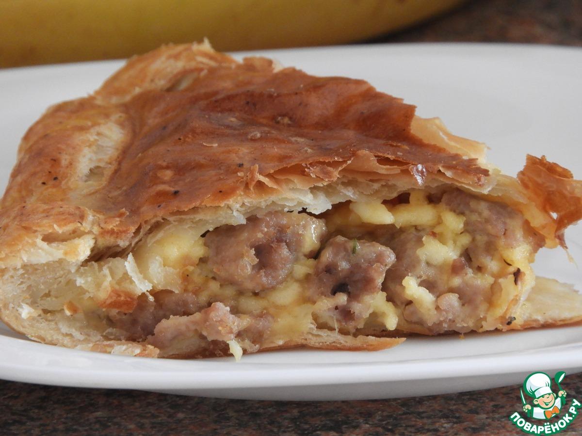 Пироги с фаршем пошагово