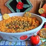Картофельная запеканка с рыбой под соусом Бешамель