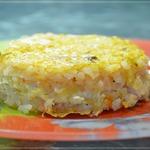 Рисовая запеканка с курицей и овощами