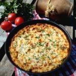 Запеканка рыбная с овощами и сыром