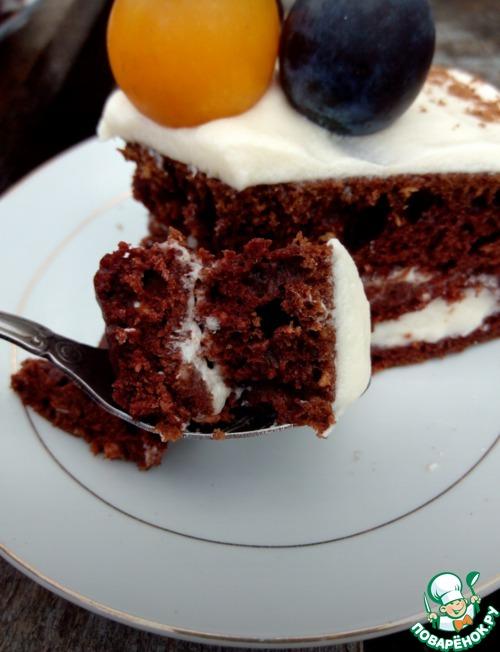 """Торт шоколадный """"Молниеносный"""""""