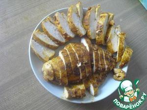 Рецепт: Пастрома из куриной грудки