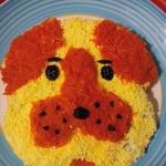 Салат Желтая собака