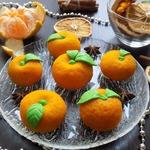 Пирожные ''Мандарины'' из теста моти