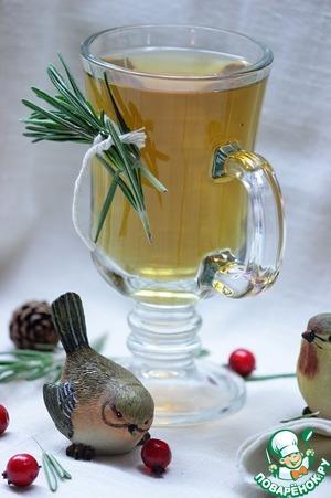 """Рецепт: Чай """"Зимние грезы"""""""