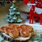 Марципановое новогоднее печенье